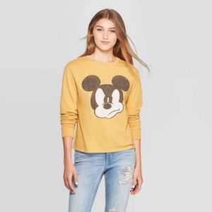 Women's Mickey Mouse Long Sleeve T-Shirt Juniors S